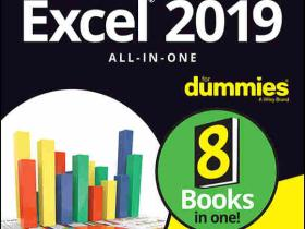 《Excel 2019 All-in-One For Dummies》(英文原版)Greg Harvey PDF电子书 文字版 下载